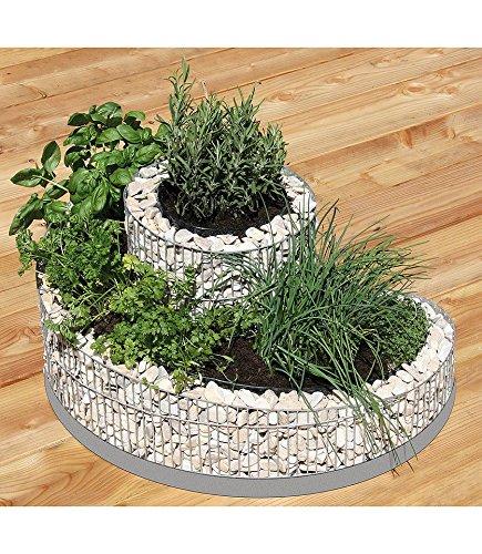 Kräuterspirale Für Balkon : kr uterspirale f r den balkon hochbeet ~ Michelbontemps.com Haus und Dekorationen